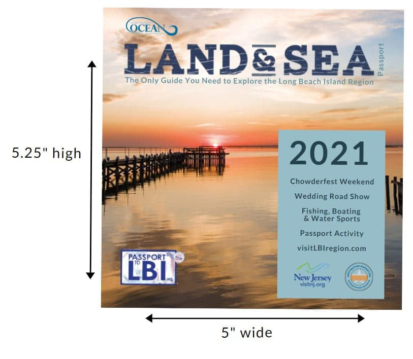The 2021 Land & Sea Passport has sold out.